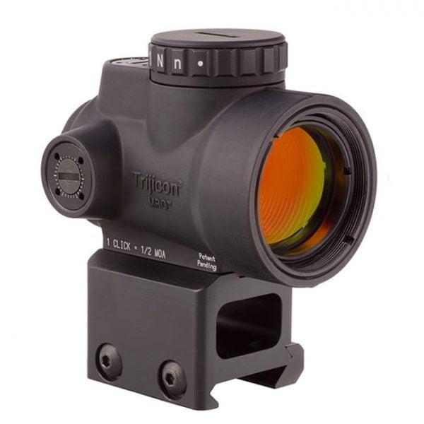 Trijicon 1x25 MRO 2.0 MOA Adj Red Dot w/Lower 1/3 Cowitness Mount AC32069 MRO-C-2200006