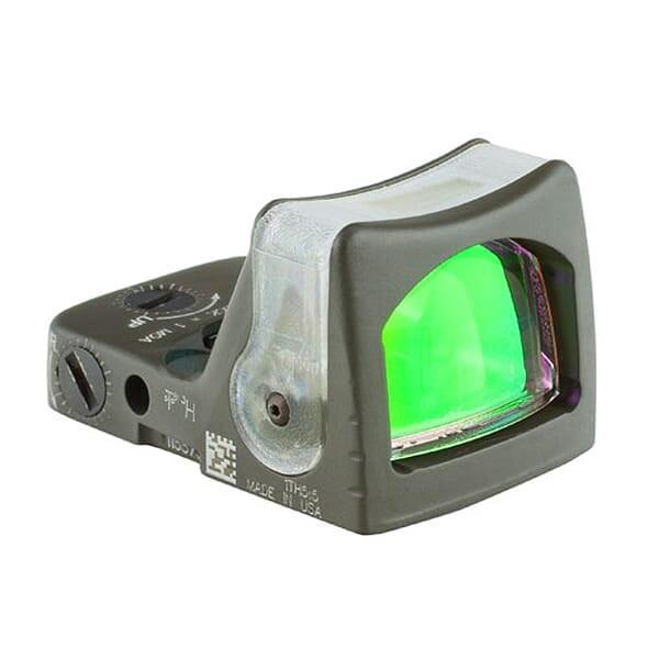 Trijicon RMR Dual Illuminated ODG Amber Triangle Sight RM08-C-700257