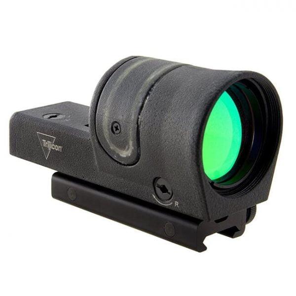 Trijicon 1x42 Reflex Green 6.5 MOA Dot w/ TA51 Flattop Mount RX30-C-800113