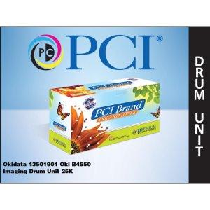 PCI Brand Okidata 43501901 B4550 Imaging  Unit 25K Yield (43501901-PCI)