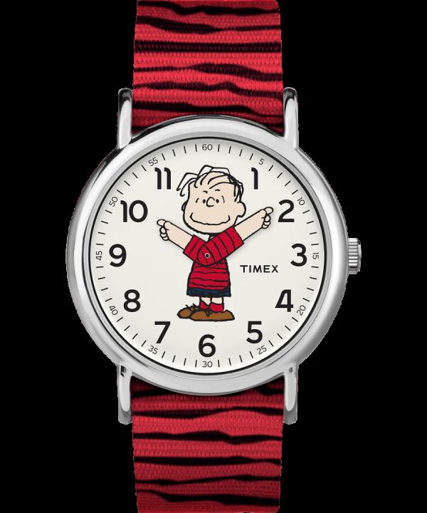 Timex x Peanuts - Linus 38mm Fabric Strap Watch