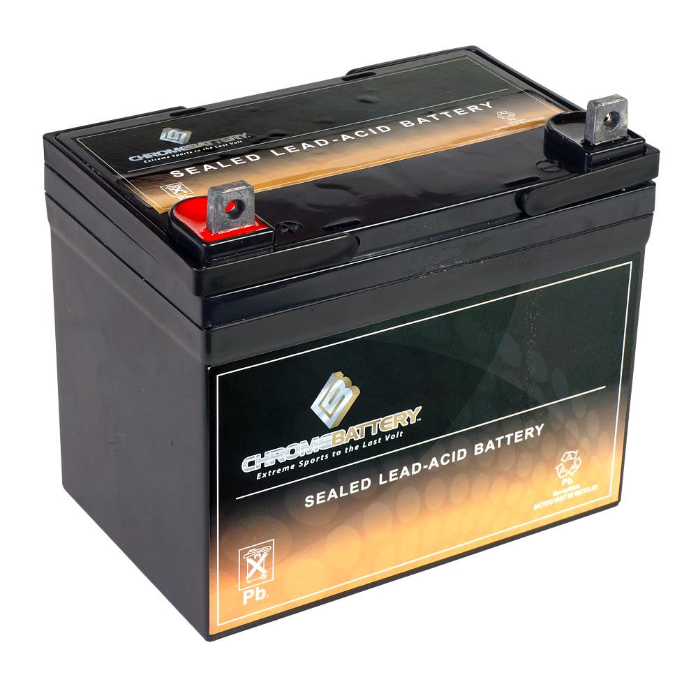 12v 35ah battery for jacobsen / homelite / hustler 53275 lawnmower