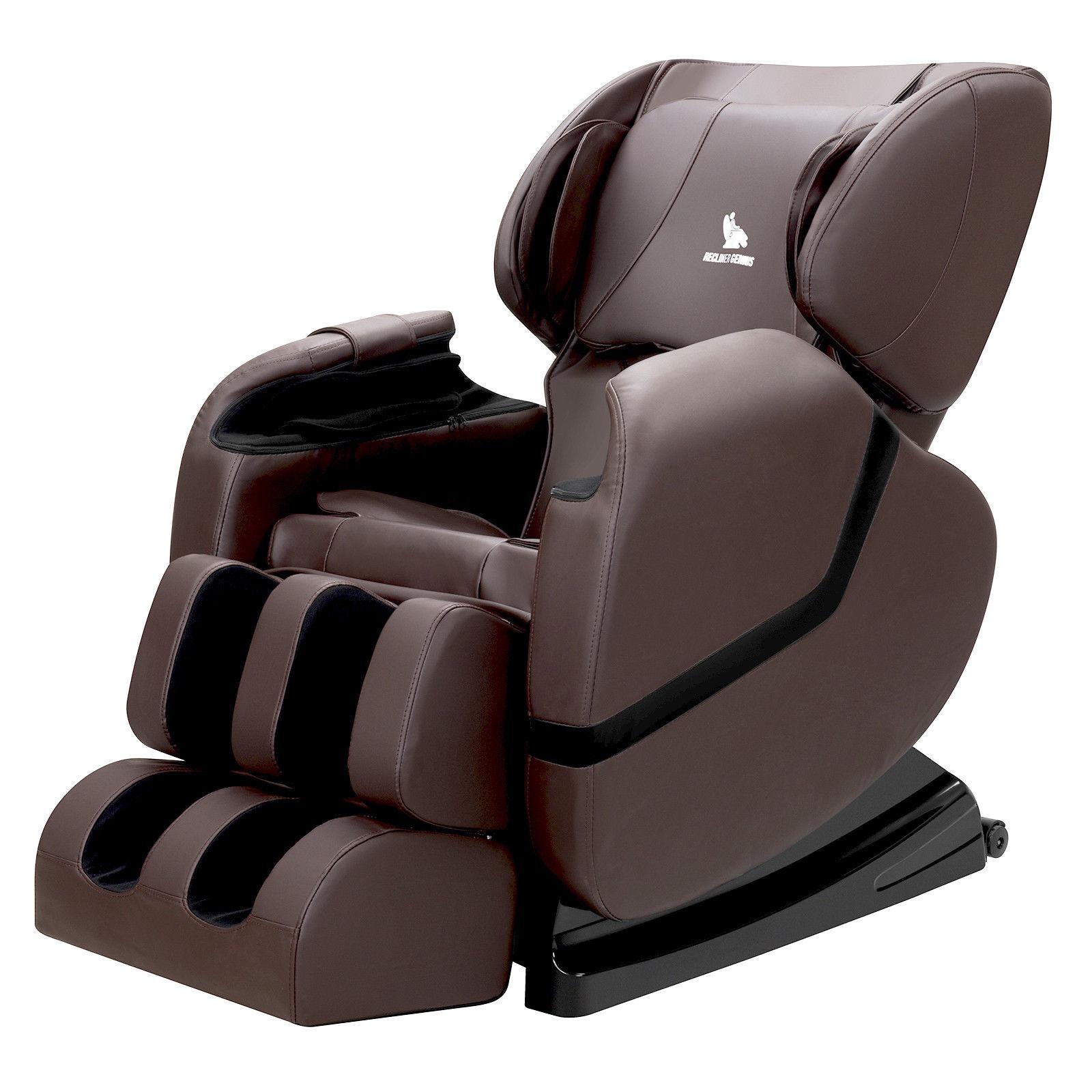 Zero Gravity Shiatsu Full Body Massage Chair Recliner with Heat and Foot Rest