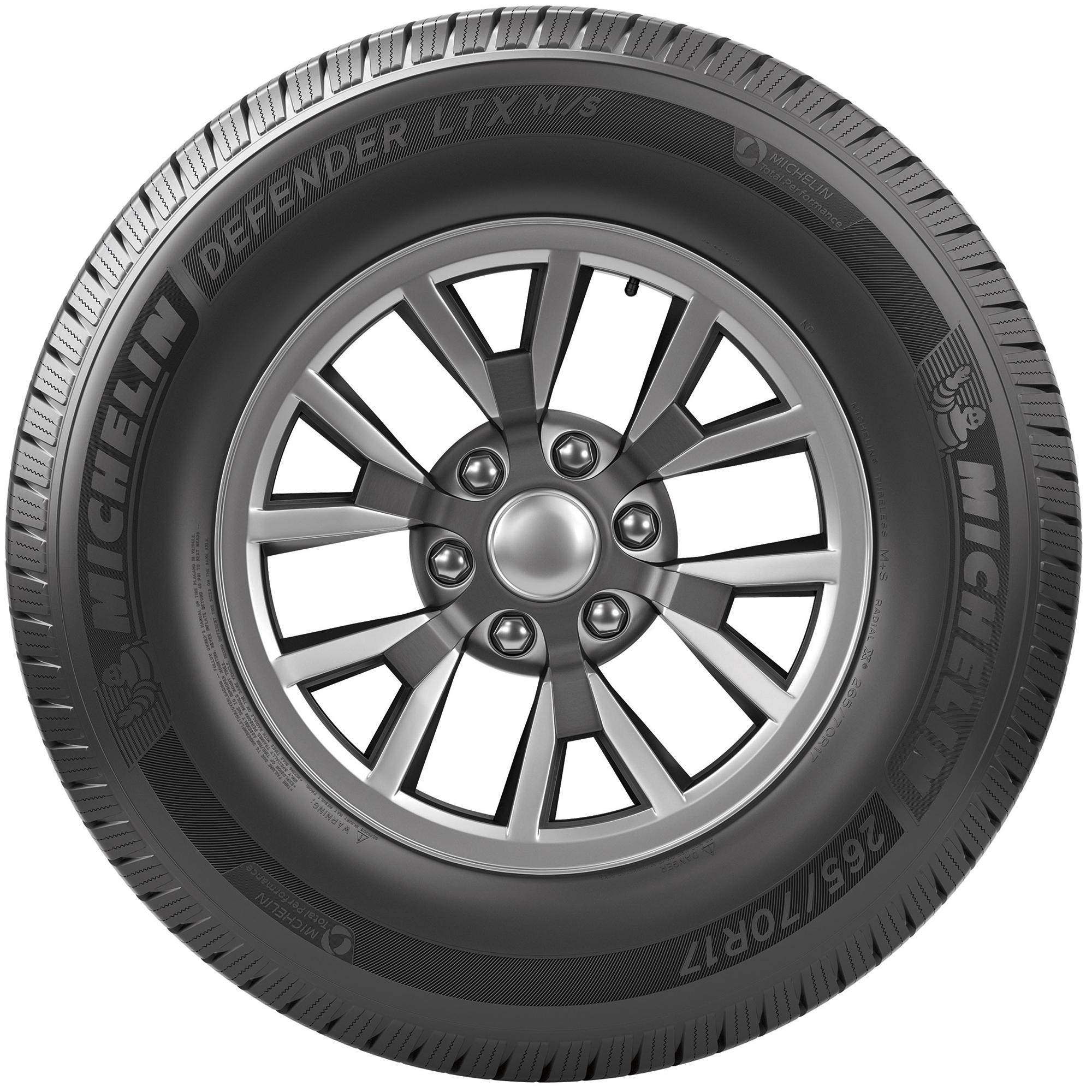 Michelin Defender LTX M/S Highway Tire LT275/65R18/E 123/120R